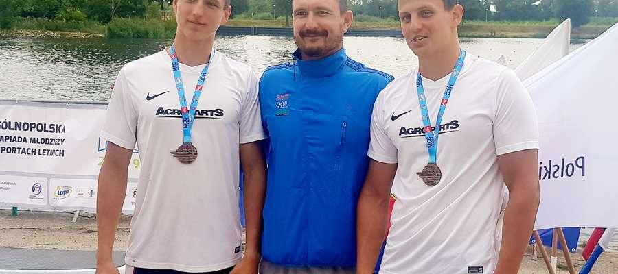 Grzegorz Łabędzki oraz Jakub Horba i Adam Werner