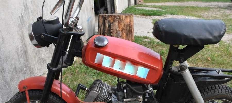 Odzyskana motorynka