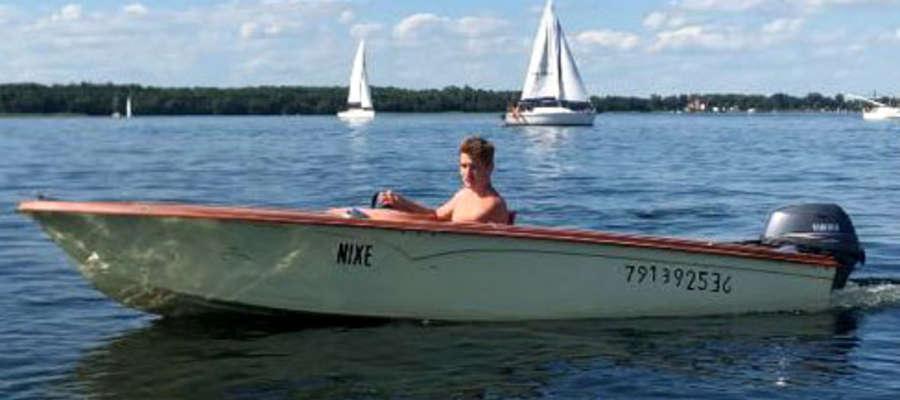 Tak wyglądała łódka, która zatonęła
