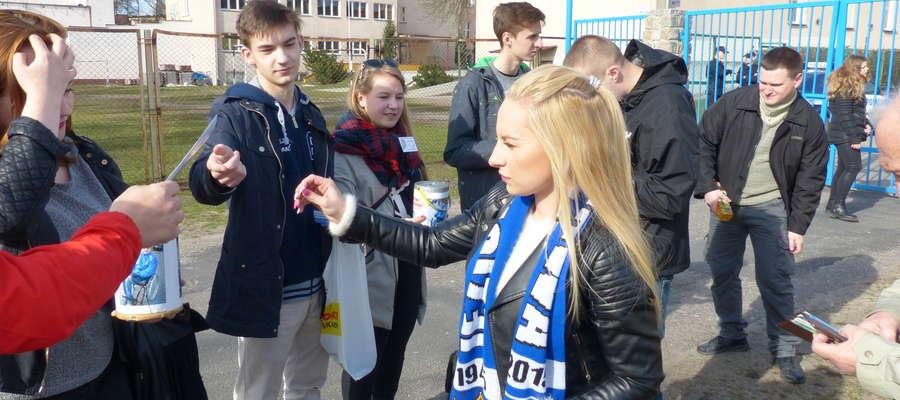 Zdjęcie z pucharowego meczu Jezioraka Iława z Drwęcą NML (2 kwietnia 2016)