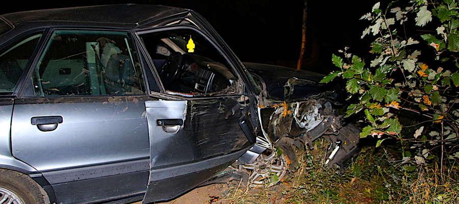 Bulwersujące zachowanie sprawcy wypadku w gminie Świedziebnia