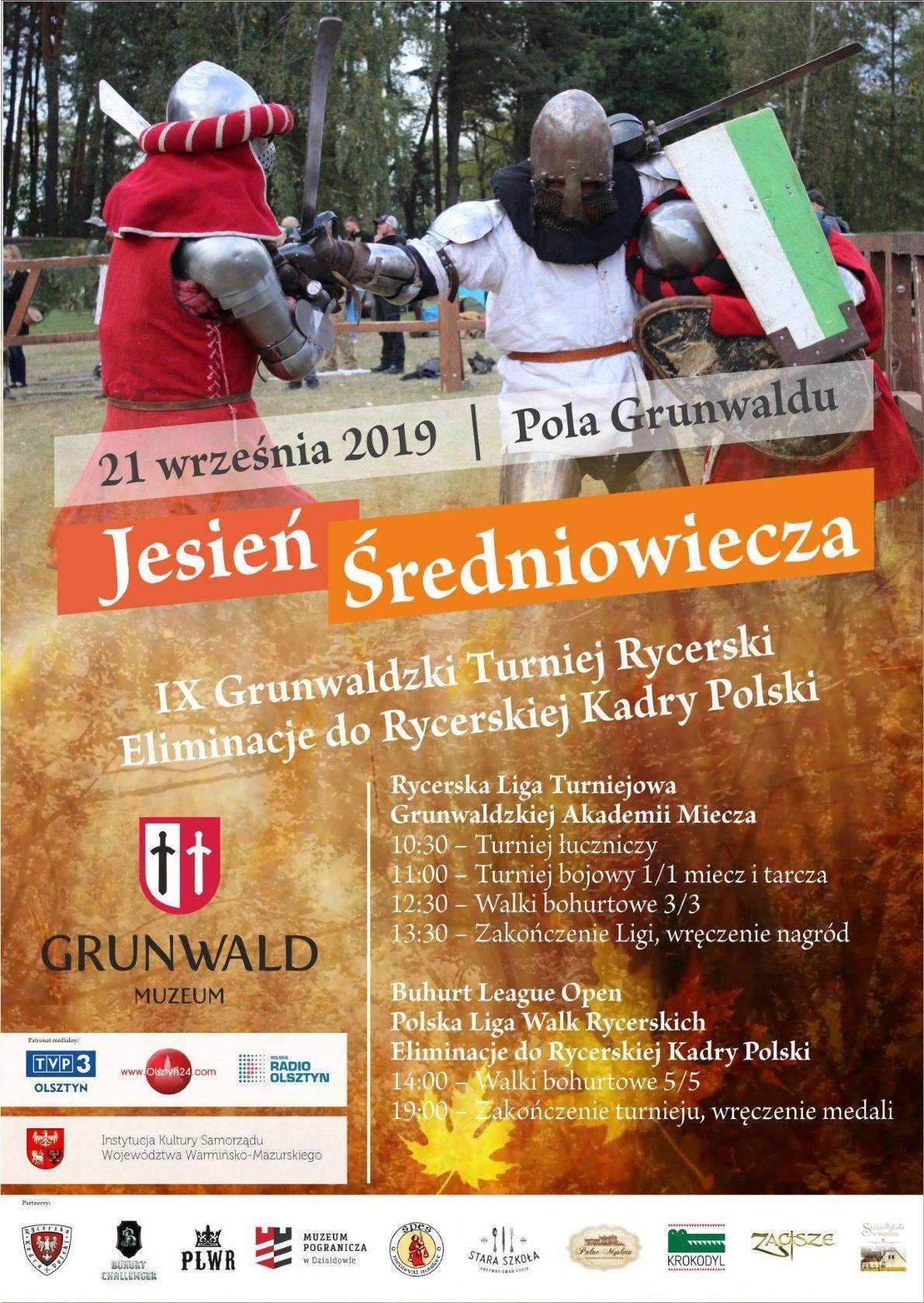 """Grunwaldzki Turniej Rycerski """"Jesień Średniowiecza"""" - full image"""