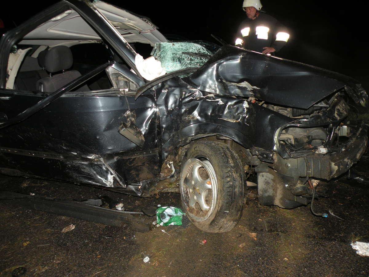 Służby ratownicze pracowały przy wypadku w Ostaszewie