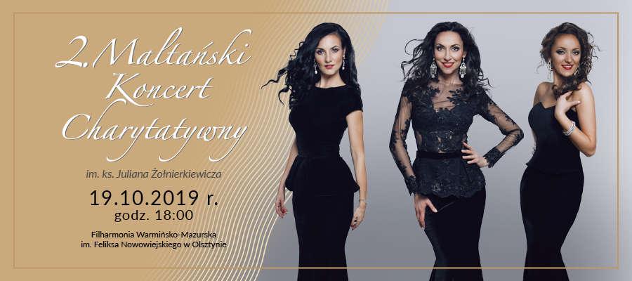 II Maltański Koncert Charytatywny im. ks. Juliana Żołnierkiewicza. w Filharmonii w Olsztynie - full image