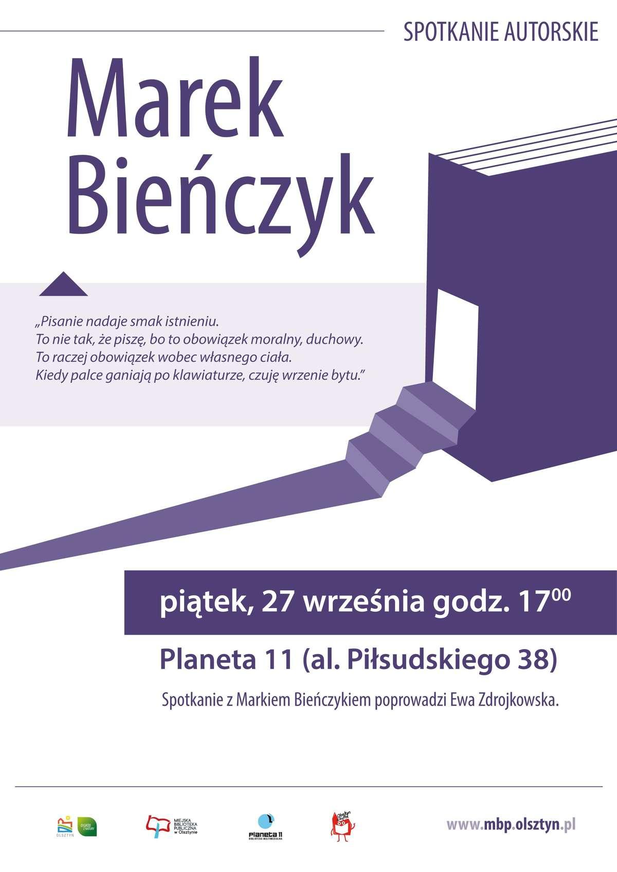 Marek Bieńczyk gościem Planety 11  - full image