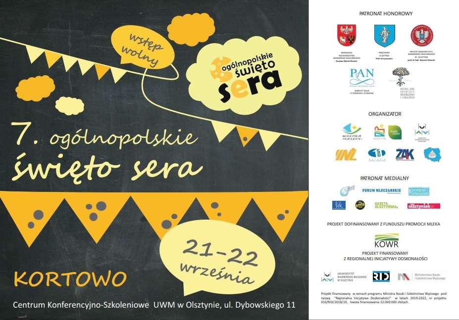 Zapraszamy na festiwal serów - full image