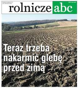 Rolnicze ABC - wrzesień 2019