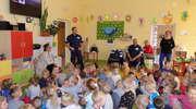 Policjanci przypomnieli dzieciom o zasadach bezpieczeństwa