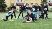 Uczniowie szkół podstawowych na zawodach w Lekkiej Atletyce