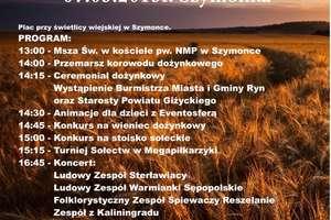 Dożynki powiatowe i gminne (program)