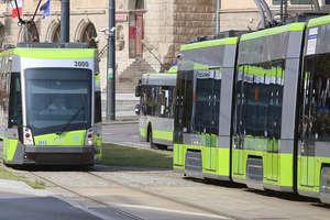 Zamieszanie w tramwaju w Olsztynie. Dwuletnie dziecko zostało na przystanku