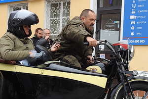 Zabytkowe motocykle pojawiły się w sobotę pod Wysoką Bramą [ZDJĘCIA]