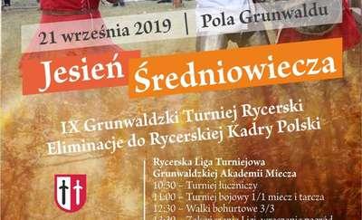 """Grunwaldzki Turniej Rycerski """"Jesień Średniowiecza"""""""