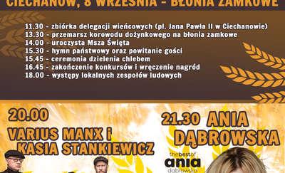 Zapraszamy na Dożynki Województwa Mazowieckiego!