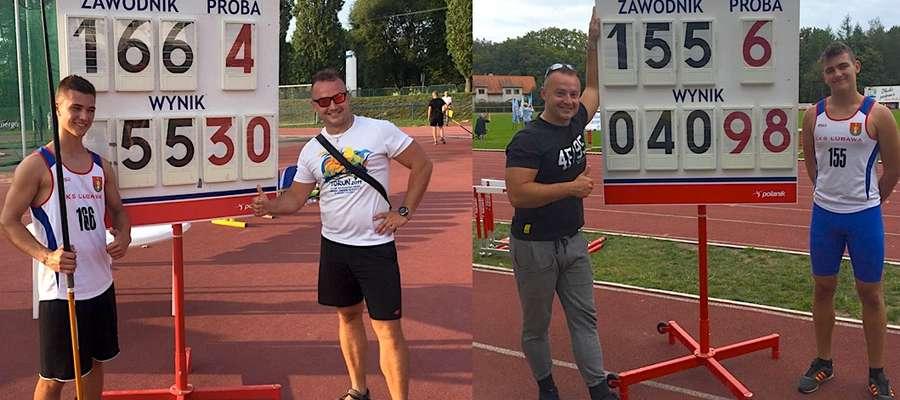Trzymamy kciuki za obydwu podopiecznych trenera Leszka Kołodziejskiego