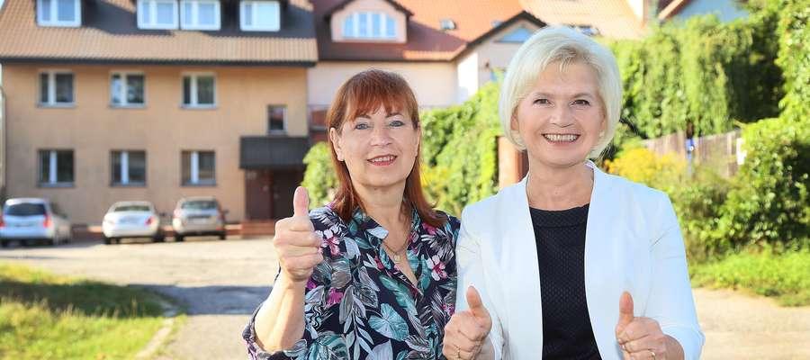 — Dziesięć lat czekam na sprawiedliwość — mówi Marianna Kanabrodzka (z lewej)