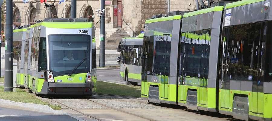 Przystanek MPK i tramwajowy
