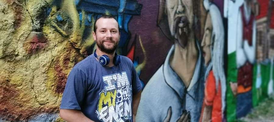 Mateusz Wilk: Podczas  malowania wszyscy chwalili całą inicjatywę. Miłe słowa towarzyszyły mi cały czas.