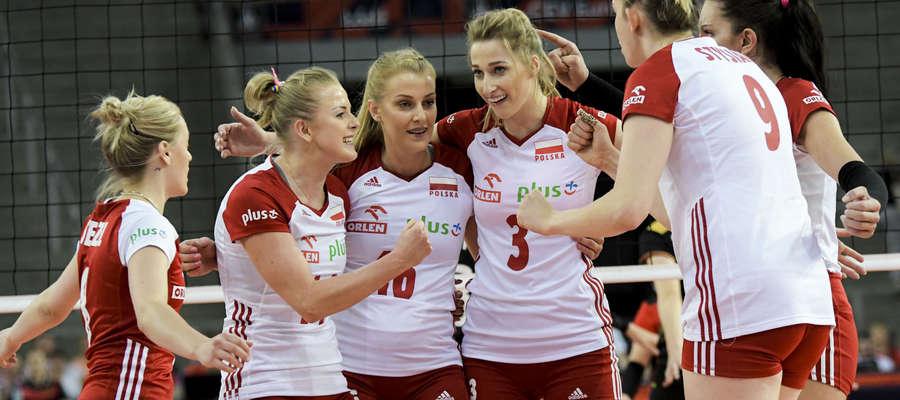 Polskie siatkarki zagrają w weekend o medale mistrzostw Europy! Druga z lewej Joanna Wołosz, wychowanka Truso Elbląg