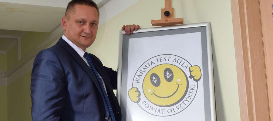 Andrzej Abako i słynny uśmiech Smiley'a