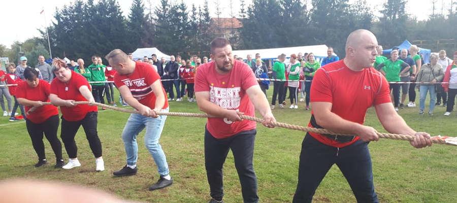 W przeciąganiu liny nie było mocnych na gminę Ostróda
