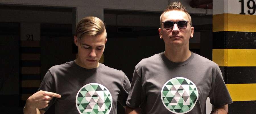 Jako Romantycy Lekkich Obyczajów Adam Miller (po lewej) i Damian Lange grają razem od 2011 roku