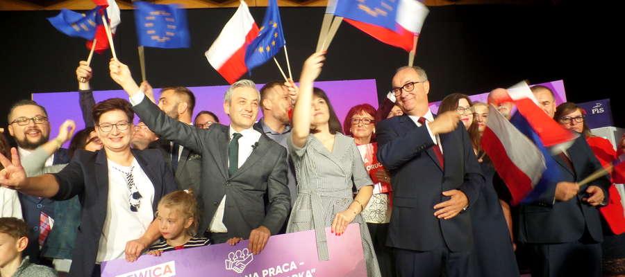 Przedstawiciele ugrupowań tworzących Lewicę spotkali się z wyborcami w Olsztynie