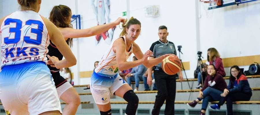 Kapitan KKS Joanna Markiewicz podczas płockiego turnieju