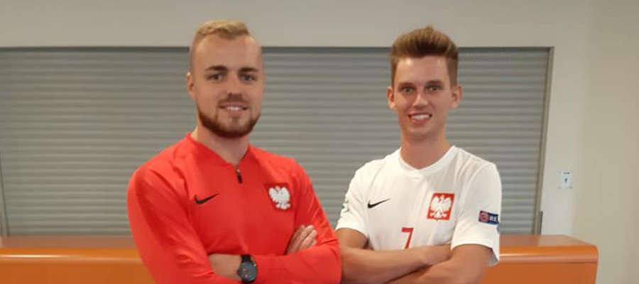 Dawid Grubalski i Jakub Raszkowski