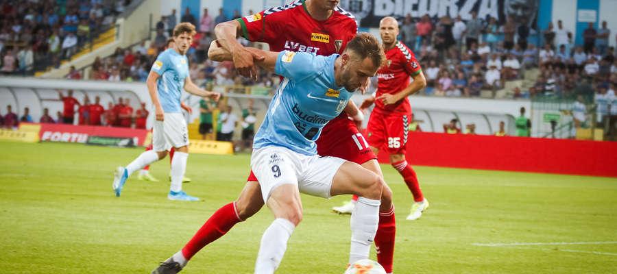 Jedynego gola w meczu ze Stalą Mielec strzelił Szymon Sobczak