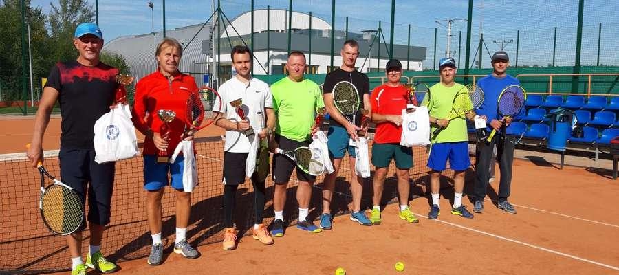 Męski turniej tenisa ziemnego w Lidzbarku Warmińskim