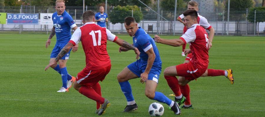 Paweł Tomkiewicz w Wysokim Mazowieckim strzelił pierwszego gola dla Sokoła