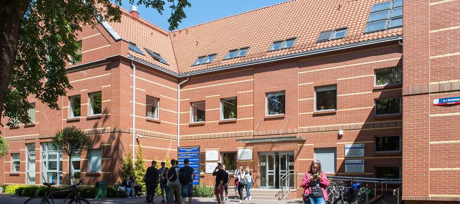 Budynek Wydziału Geodezji, Inżynierii Przestrzennej i Budownictwa UWM