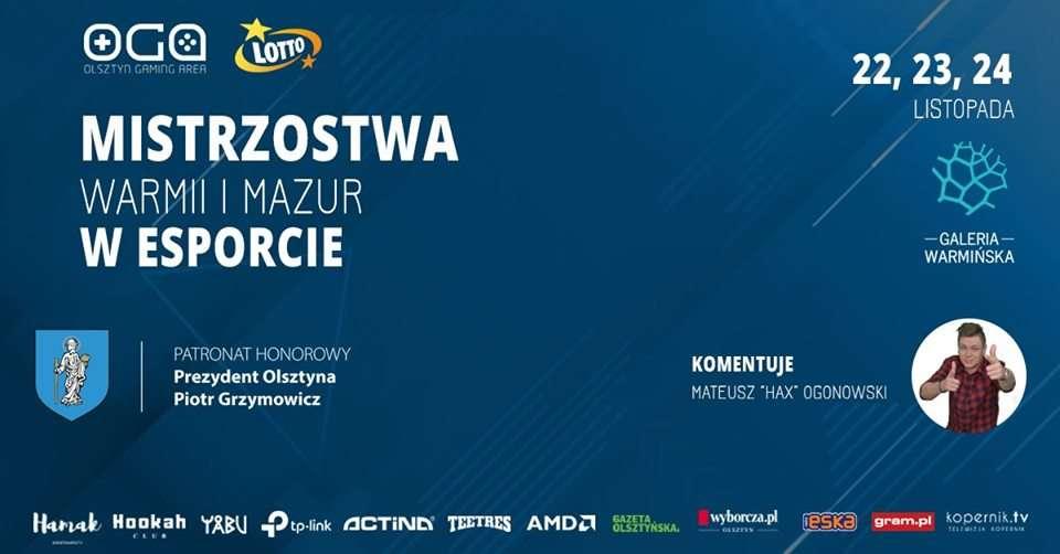 LOTTO - Mistrzostwa Warmii i Mazur w Esporcie - CS:GO - full image