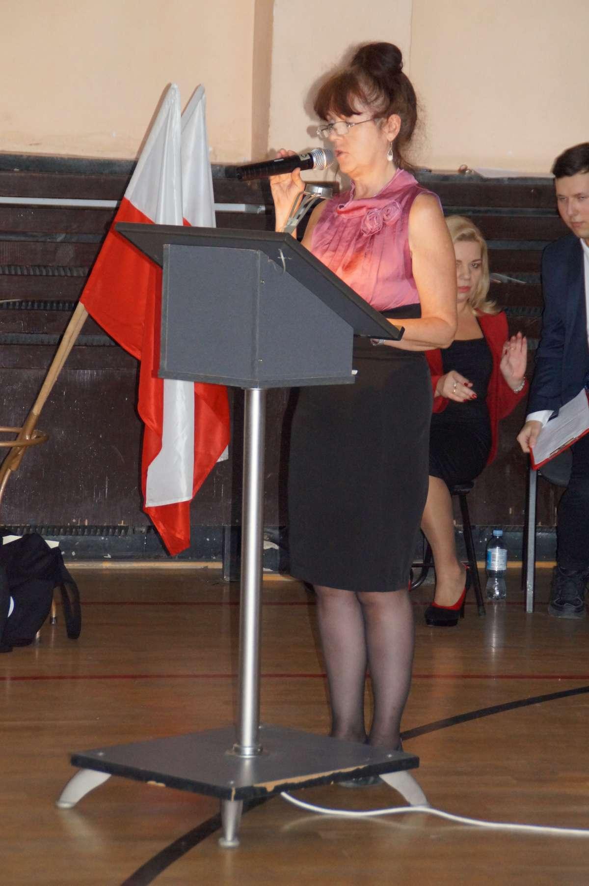 dyrektorka ZSEH Małgorzata Pańczyk