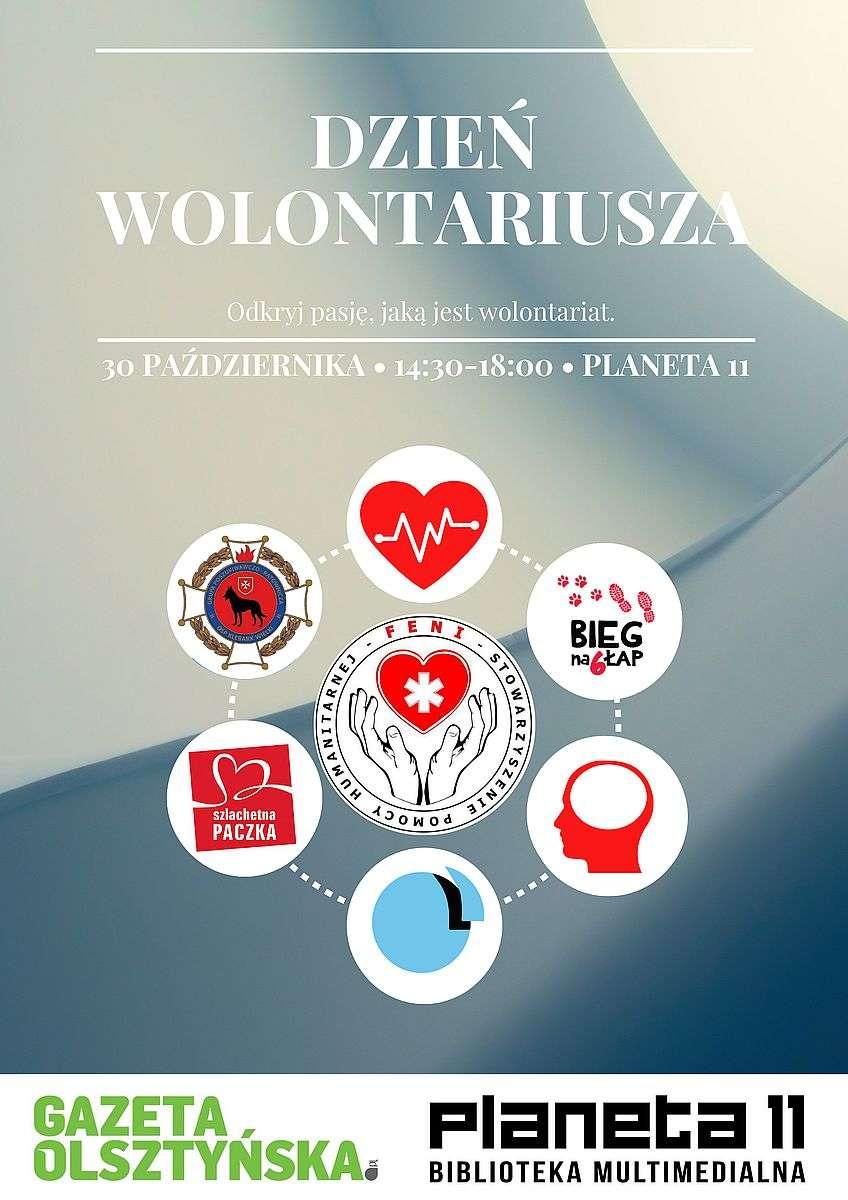 Dzień wolontariusza w Olsztynie - full image