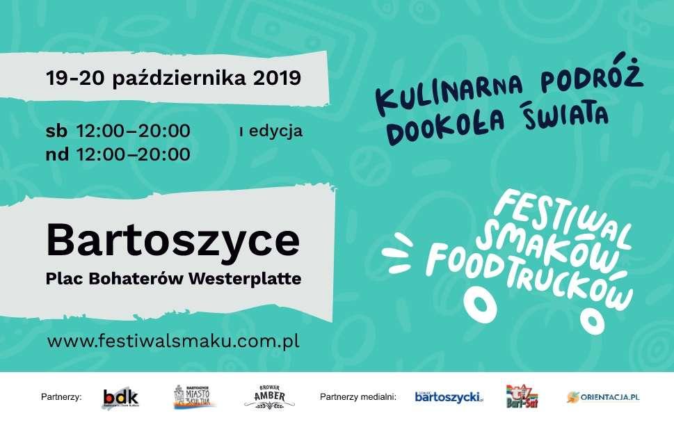 I Festiwal Smaków Food Trucków w Bartoszycach - full image