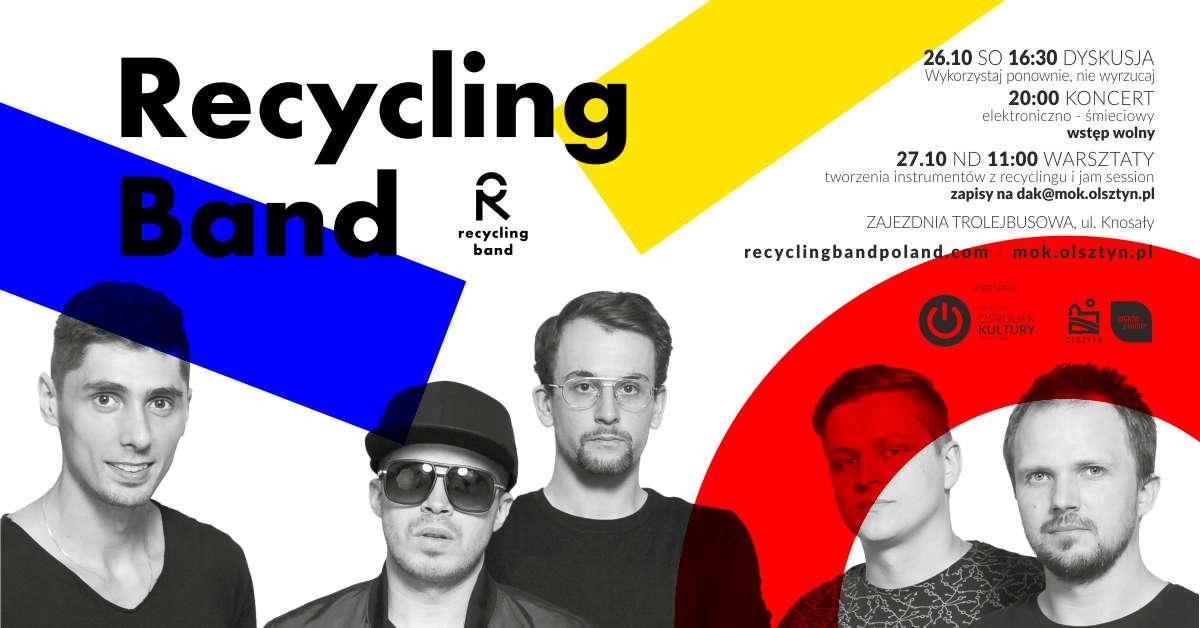 Recykling Band w Zajezdni Trolejbusowej - full image