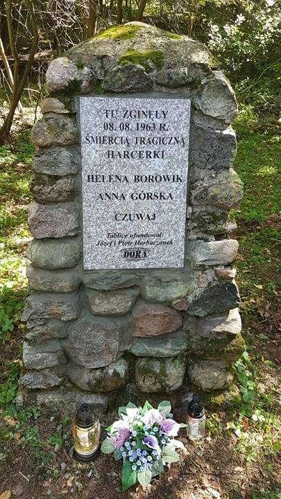 Tablica upamiętniająca tragedię w Cerkiewniku
