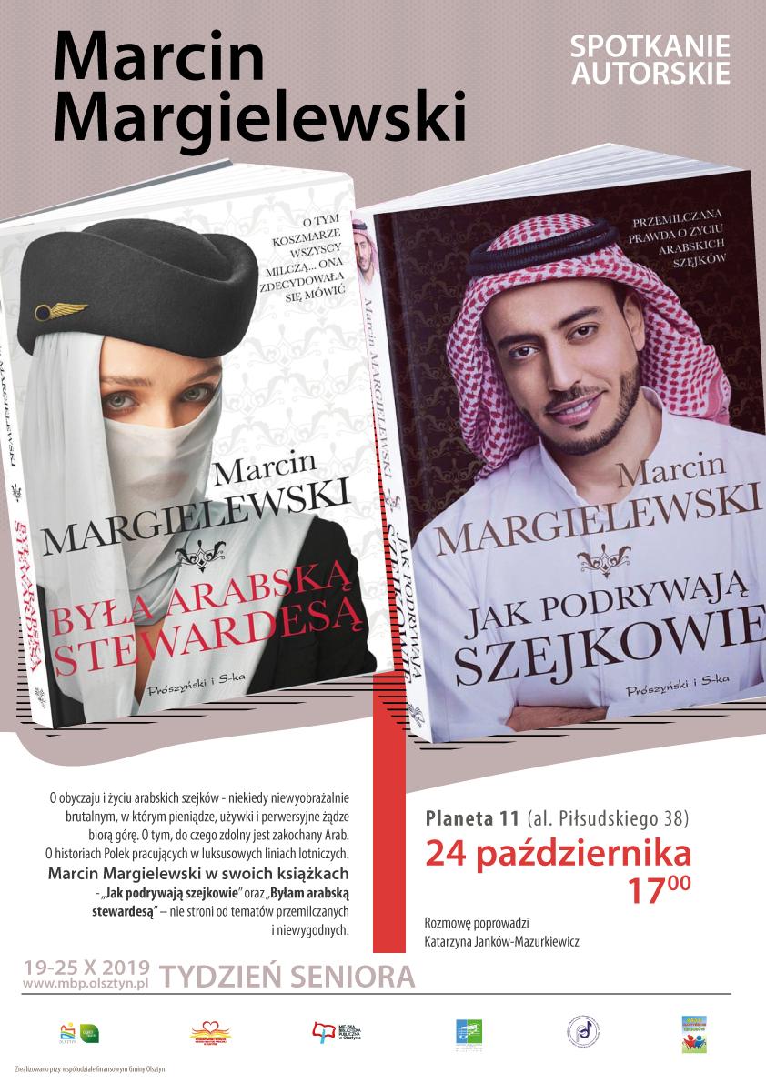 Spotkanie z Marcinem Margielewskim odbędzie się 24 października w Planecie 11