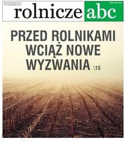 Rolnicze ABC - PAŹDZIERNIK 2019