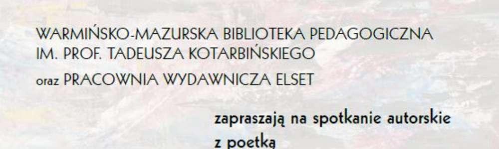 Spotkanie autorskie z Danutą Grocholską