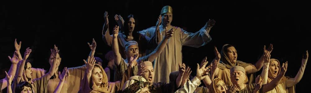 Widowisko operowe – NABUCCO G. Verdiego w OLsztynie