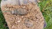 Podczas sprzątania strychu starsza kobieta znalazła dwa granaty