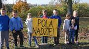 Uczniowie założyli przy szkole Pole Nadziei