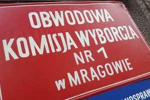 Powiat mrągowski z jedną z najwyższych frekwencji w województwie