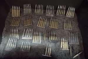Niewybuch w lesie, 100 sztuk amunicji na strychu