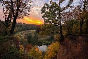 Zdjęcie Tygodnia. Zachód słońca w Perkujkach