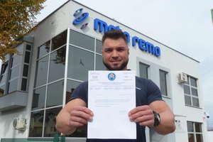Daniel Weisgerber dostał powołanie do kadry Polski i pojedzie na mistrzostwa świata w fitness!