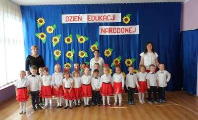 Dzień Edukacji Narodowej w Przedszkolu Publicznym Nr 9 w Bartoszycach